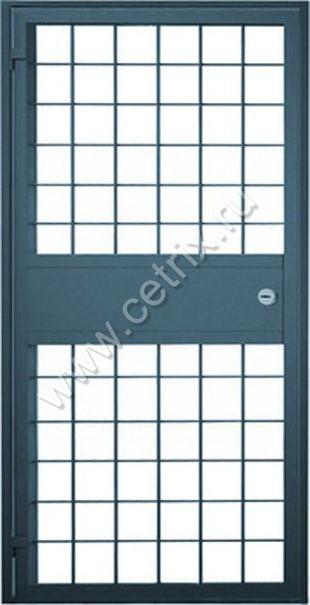 железный двери решетка
