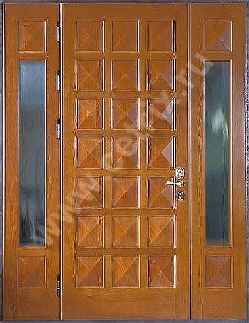 входные легкие двери со стеклом
