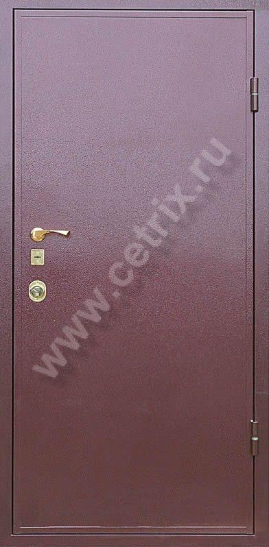 стальная дверь порошковая