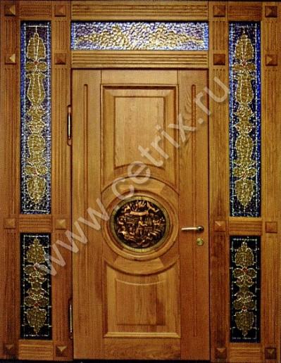 входние двери из масива