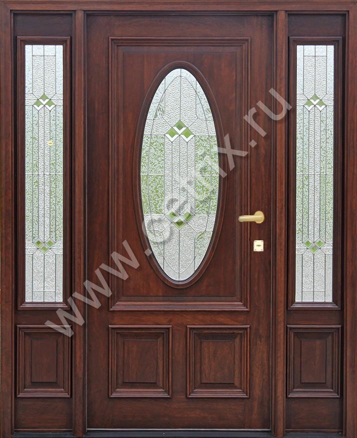 изготовление двухстворчатой входной двери