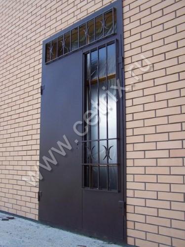 металлические двери решетчатые для подъезда