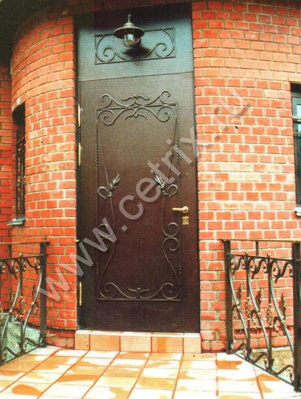 хорошие металлические уличные двери