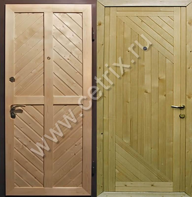 Металлическая дверь для дачи своими руками